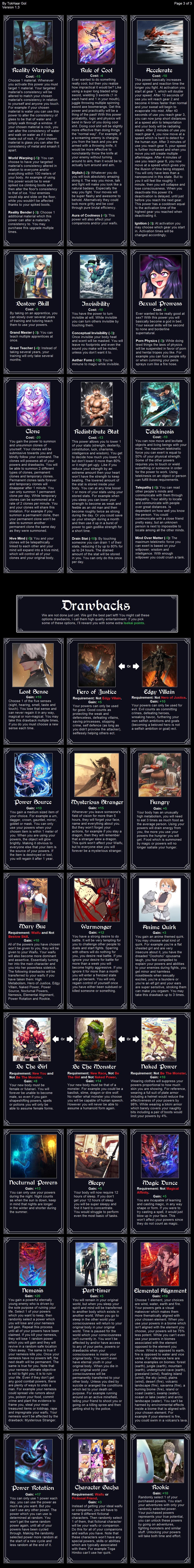 Imgur 1 worm cyoa overview for